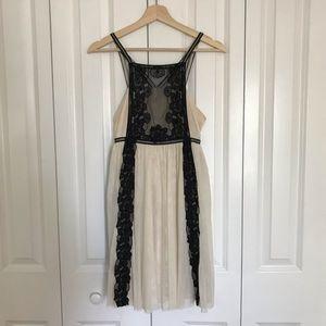 Free People • Floral Antique Lace Dress